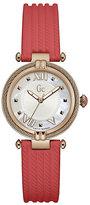 Gc Ladies' CableChic Orange Silicone Strap Watch