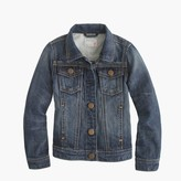 J.Crew Girls' washed denim jacket