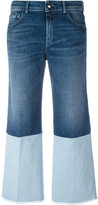 The Seafarer - double-denim detail jeans - women - Cotton/Polyurethane - 25