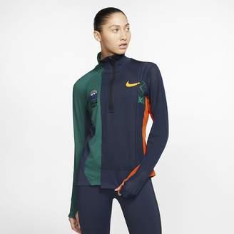 Nike Womens Half-Zip Running Jacket x Sacai