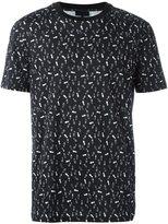 Lanvin footstep print T-shirt