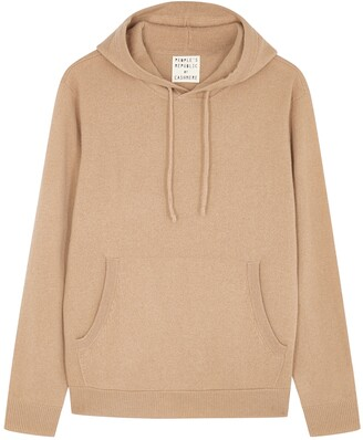 Peoples Republic of Cashmere People's Republic Of Cashmere Camel Hooded Cashmere Jumper