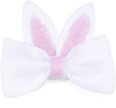 Jean Marie White & Pink Bunny Bow Clip