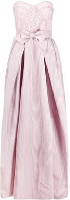 ZUHAIR MURAD Lace-Bustier Faille Gown