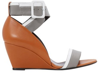 Pierre Hardy Alpha wedge sandals