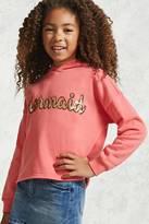 Forever 21 Girls Mermaid Hoodie (Kids)