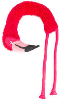 Diesel flamingo drape scarf - unisex - Cotton/Acrylic/Nylon/Viscose - One Size