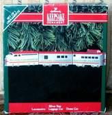 Hallmark 1992 Silver Star Set of 3 Train Ornaments Keepsake Ornament