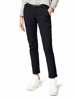 Scotch & Soda Maison Women's Chino Hosen Medium weight pima cotton stretch sold with belt Size: W30/L32