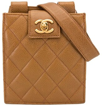 Chanel Pre Owned quilted CC belt bag