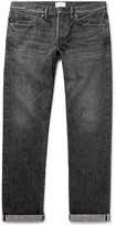 Simon Miller M002 Slim-Fit Distressed Selvedge Denim Jeans