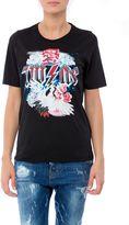 DSQUARED2 Metal Swan Print T-shirt