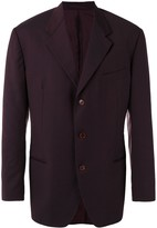 Romeo Gigli Pre Owned pinstriped blazer