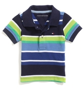 Tommy Hilfiger Final Sale- Multi Stripe Polo