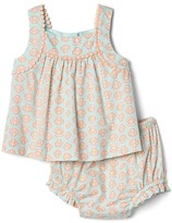 Gap Shell pom-pom top and bloomer set