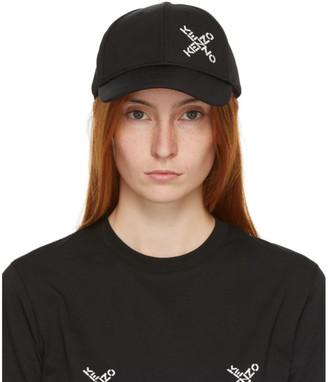 Kenzo Black Sport Cap