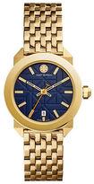 Tory Burch Whitney Goldtone Stainless Steel Bracelet Watch