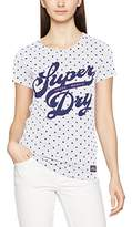 Superdry Women's Trade Markd Entry Kniited Tank Top