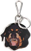 Givenchy dog keyring - women - Brass - One Size