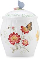 Lenox Butterfly Meadow® Sentiment Cookie Jar
