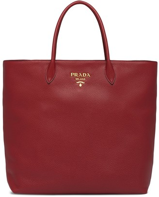 Prada Large Top Handles Tote