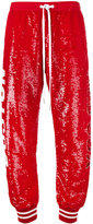 Ashish Sequin Boston Redsox Track Pants