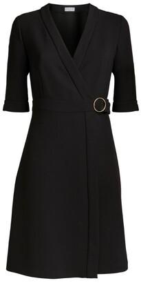 Claudie Pierlot Wrap Mini Dress