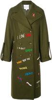 Mira Mikati Adventure Embroidered Coat