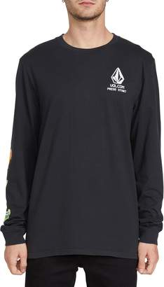 Volcom New High Score Long Sleeve Graphic T-Shirt