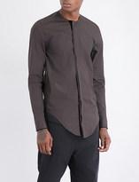 Damir Doma Collarless regular-fit cotton shirt