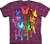 The Mountain Rainbow Butterfly Dream Catcher T-Shirt