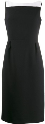 Givenchy square neck dress