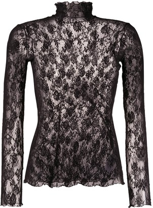 Wolford Katharina stretch-jersey pullover