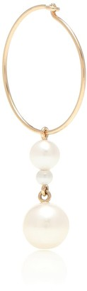Sophie Bille Brahe Exclusive to Mytheresa Perla Hoop 14kt yellow gold and pearl single earring