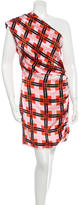 Thakoon Silk One-Shoulder Dress