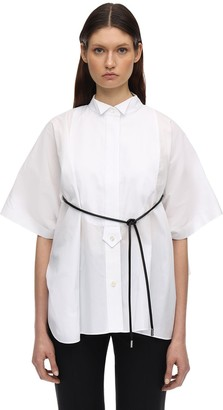 Sacai Cotton Blend Shirt