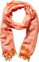Chanel Orange Cashmere Stole