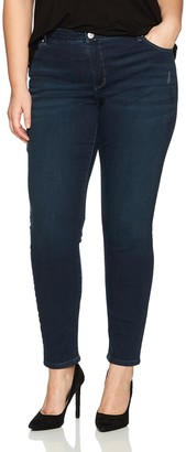 Lee Women's Plus-Size Plus-Size Slimming Fit Rebound Skinny Leg Jean