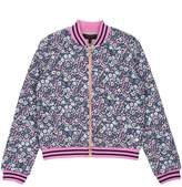 Juicy Couture Nico Floral Quilted Bomber Jacket