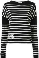 Saint Laurent striped jumper - women - Cotton - M