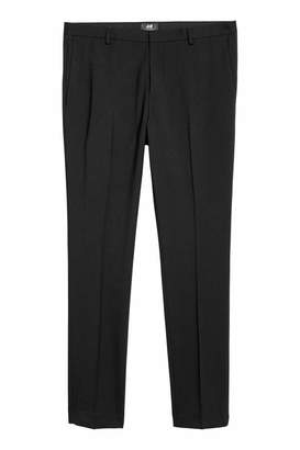 H&M Suit Pants Super Skinny fit - Light gray melange - Men