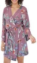 Plum Pretty Sugar Women's Floral Kimono Robe