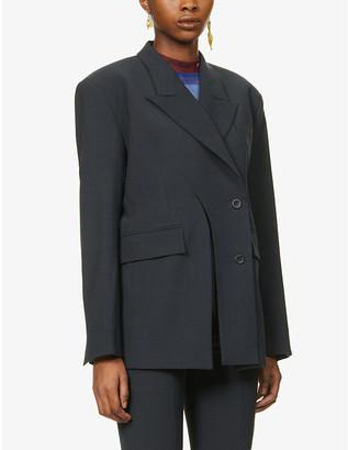 Ottolinger Wrap cut-out woven blazer