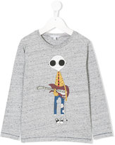 Little Marc Jacobs guitarist print T-shirt