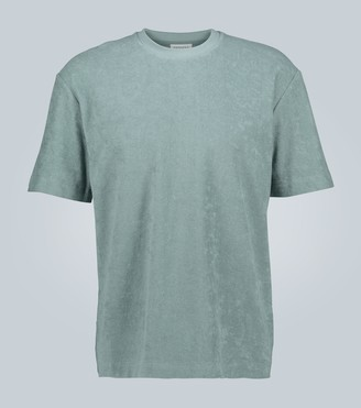 Sunspel Relaxed-fit towelling T-shirt