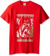 WWE Men's Ultimate Warrior Christmas Ugly Christmas T-Shirt