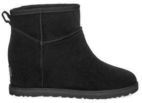 UGG Classic Femme Mini Suede Wedge Boots
