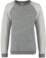 Knowledge Cotton Apparel Sweatshirt Dark Grey Melange