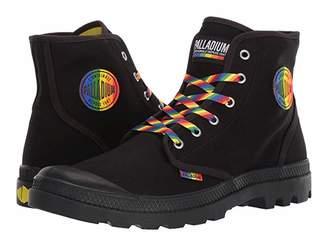 Palladium Pampa Pride Boot (Black) Lace-up Boots
