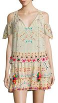 Hemant & Nandita Tiered Silk Georgette Tunic